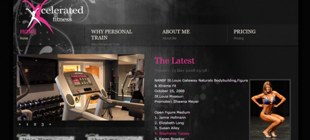 Excelerated Fitness Website